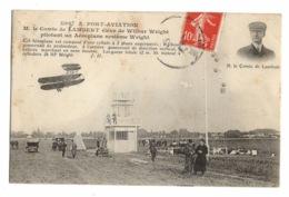 91 ESSONNE - JUVISY SUR ORGE Port-Aviation, Comte De Lambert élève De Wilbur Wright... - Juvisy-sur-Orge