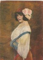 """Carlos Vazquez.Artist Raquel Meller"" Nice Spanish Postcard 1930s - Mujeres"