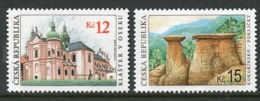 CZECH REPUBLIC 2006 World Heritage Sites, MNH / **.  Michel 469-70 - Tchéquie