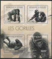 Burundi  2012 OCBn° Bloc 480 *** MNH Cote 15 € Faune Gorilles Gorilla's - 2010-..: Neufs