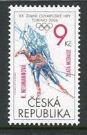 CZECH REPUBLIC 2006 Winter Olympics Medal MNH / **.  Michel 467 - Tchéquie