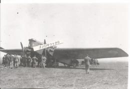 PHOTO AVION BLERIOT 127  AVEC CURIEUX    12X18CM - Luftfahrt