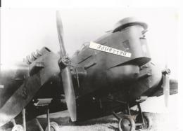 PHOTO AVION BLERIOT 127   GROS BLANC     12X18CM - Luftfahrt