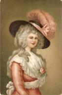 """Thomas Gainsborough. Duchess Of Devonshire"" Fine Painting, Bintage English Postcard - Mujeres"