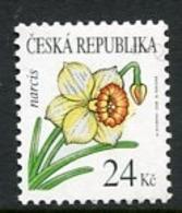 CZECH REPUBLIC 2006 Flowers Definitive 24 Kc. MNH / **  Michel 463 - Czech Republic
