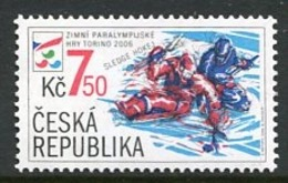 CZECH REPUBLIC 2006 Winter Paralympic Games MNH / **.  Michel 460 - Repubblica Ceca