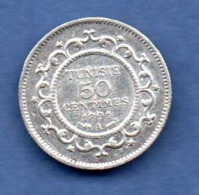 Tunisie - 50 Centimes 1891 A -  Km # 223 -  état  TTB - Tunisia