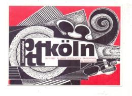 1987, KÖLN / COLOGNE, 10 Jahre Internationale Postkarten-Tauschtage, Privat-Ganzsache # 244 - Sammlerbörsen & Sammlerausstellungen
