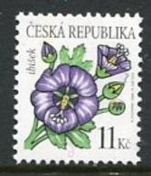 CZECH REPUBLIC 2006 Flower Definitive 11 Kc MNH / **.  Michel 458 - Czech Republic