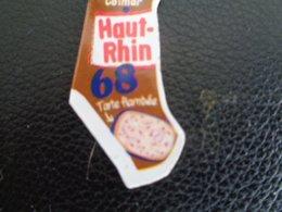 Magnet Le Gaulois, Haut Rhin , 68 - Tourisme