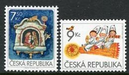 CZECH REPUBLIC 2005 Christmas MNH / **.  Michel 454-55 - Tchéquie