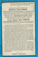 Bp   Oorlogsgevangene   Dubois   Massoz   Lierneux   Mauthausen   Ravensbrûck - Imágenes Religiosas