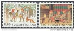 Finland 1982 Kerstzegels Serie PF-MNH-NEUF - Finland