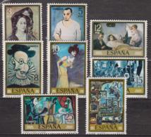 Art, Peinture - ESPAGNE - Tableaux De Pablo Picasso - N° 2127 à 2134 ** - 1978 - 1931-Aujourd'hui: II. République - ....Juan Carlos I