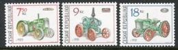 CZECH REPUBLIC 2005 Vintage Tractors MNH / **.  Michel 446-48 - Ungebraucht