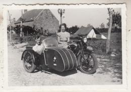 Side-Car - 1935 - à Situer - Te Situeren - Photo 6 X 9 Cm - Radsport