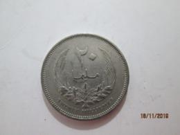 LYBIA 20 Milliemes 1965   # 1 - Libya