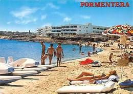 Spain Formentera Es Pujols Plage Strand Animated Beach - Andere