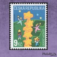 Czech Republic 2000 Mi.256 Europe-2000./1v (MNH **) - Tchéquie