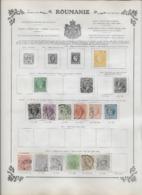 Roumanie Collection Ancienne Sur Charnière - Timbres Oblitérés/neufs * B/TB - 10 Scans - Rumania