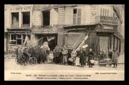 51 - REIMS - GUERRE 14/18 - RUE DE VESLE - Reims