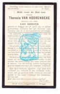 DP Theresia Van Hoorenbeke ° Brugge 1841 † 1926 X Leo Derous - Imágenes Religiosas