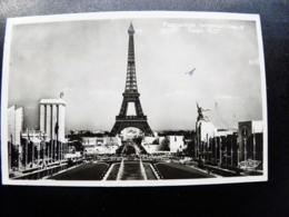 Old Post Card Carte Sent From France Le Puy En Velay Paris 1937 Exposition Internationale Eifel Tower - Francia