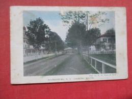 Hainesburg  Street View  Paper Rub   New Jersey       Ref 3724 - Vereinigte Staaten