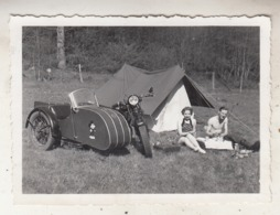 Side-Car - Lesse - 1935 - Photo 6.5 X 9 Cm - Radsport