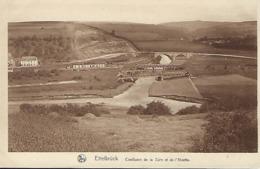Ettelbruck  -  Confluent De La Sûre Et De L'Alzette  -  Ancienne Ponts à Ettelbruck - Erpeldange Au Fond - Andere