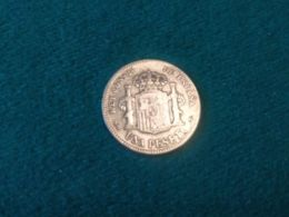 1 Pesetas 1899 - [ 1] …-1931 : Reino