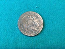 5 Centimos 1868 - [ 1] …-1931 : Reino