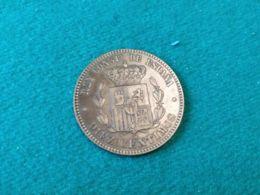 10 Centimos 1877 - [ 1] …-1931 : Reino