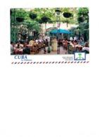 Grande Cpm - CUBA - LA HABANA - 1999 - Restaurante LA MINA - Animation Paon - Cuba