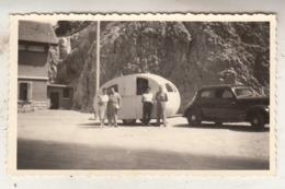 Old Timer - Caravane - à Situer - Photo 6.5 X 11 Cm - Automobile