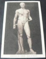 LIBYA 1923 _  MUSEUM OF BENGASI :  MERCURY OF CIRENE ...BEAUTIFUL ANCIENT PICTURE POSTCARD - Libia