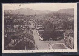 88  SAINT -  DIE    Panorama Pris De L'eglise Saint-Martin   -1935- - Saint Die