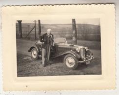 Old Timer - Conducteur - Photo 8 X 11 Cm - Automobile