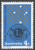 Australia. 1967 50th Anniv Of Lions International. 4c MNH. SG 411 - 1966-79 Elizabeth II