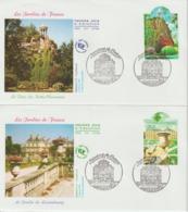 France FDC 2003 Jardins De France 3606-7 - FDC