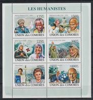 W704. Comores - MNH - Famous People - Humanitarians - Celebridades