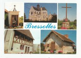 03 Allier Bressolles Oratoire De Longve église , Croix Maison Bailly Four A Pain De Montchenin - Other Municipalities