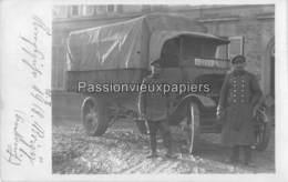 CARTE PHOTO ALLEMANDE ROIZY 1918 - Frankrijk