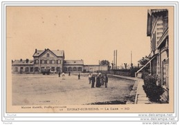 93) EPINAY SUR SEINE - La Gare - (animée) - Francia