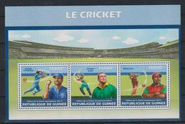 P943. Guinea - MNH - 2013 - Sports - Cricket - Sellos