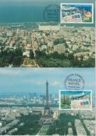 France Carte Maximum 2008 émission Commune 4299-4300 - Maximum Cards