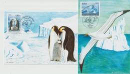 France Carte Maximum 2009 Protection Des Poles 4350-4351 - Maximum Cards