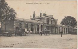 35 Dol La Gare Attelage  -s47 - Dol De Bretagne