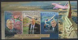 J309. Guinea - MNH - 2012 - Transport - Airplanes - Henri Perrier - Verkehr & Transport