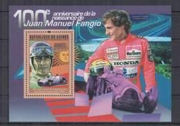 H310. Guinee - MNH - 2011 - Sport - Racing - Juan Manuel Fangio - Bl - Automobile